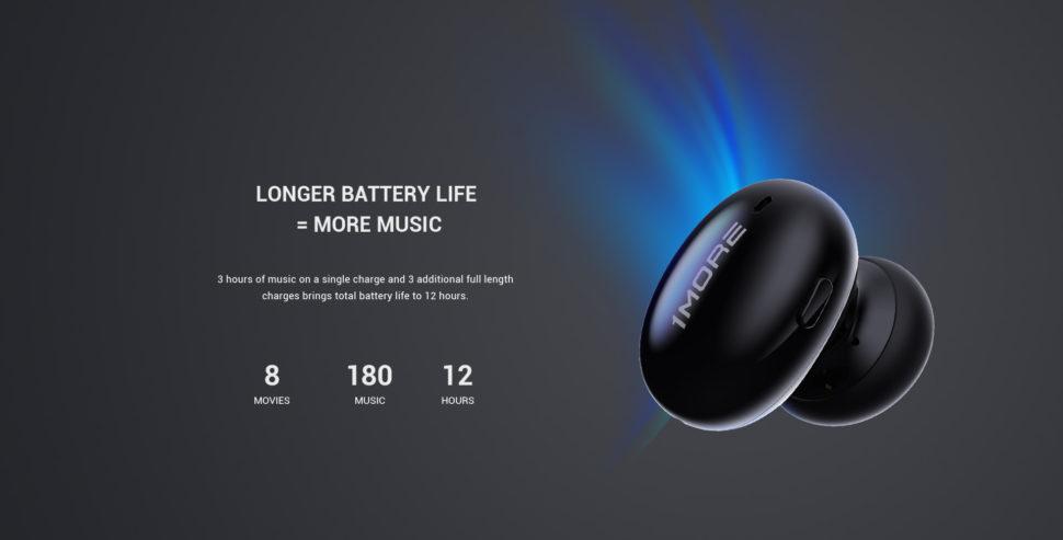 1More TWS Testbericht battery