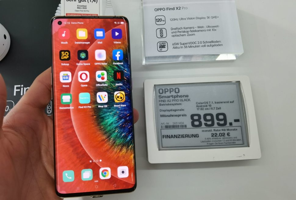 Oppo Find X2 Pro Angebot