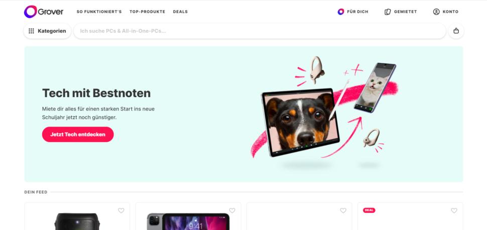 Screenshot Grover