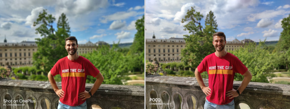 lossless Kameravergleich Bokeh OnePlus Nord Poco F2 Pro