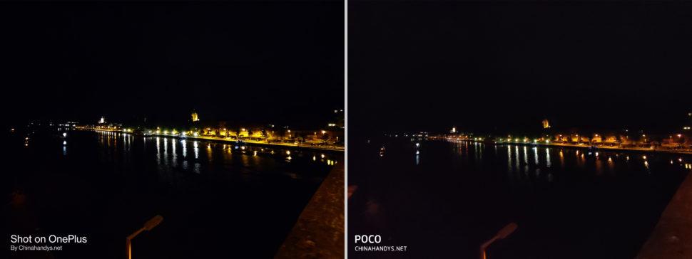 lossless Kameravergleich UWW Nacht OnePlus Nord Poco F2 Pro
