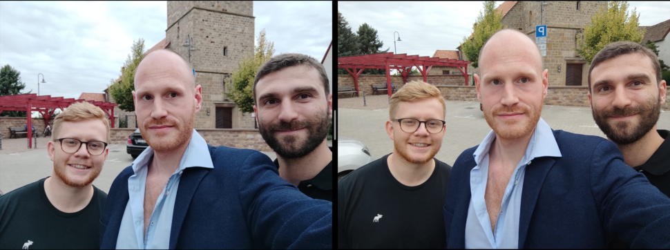 lossless redmi note 9 pro vs poco x3  selfie 1