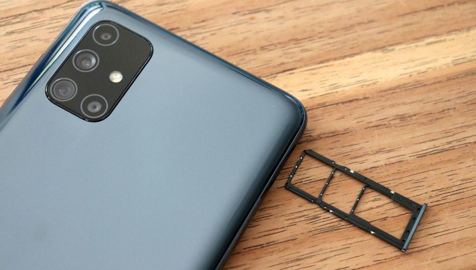 Samsung Galaxy M51 SIMSlot