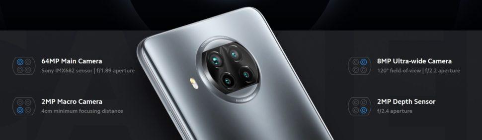 Xiaomi Mi 10T Lite 5G Kamera