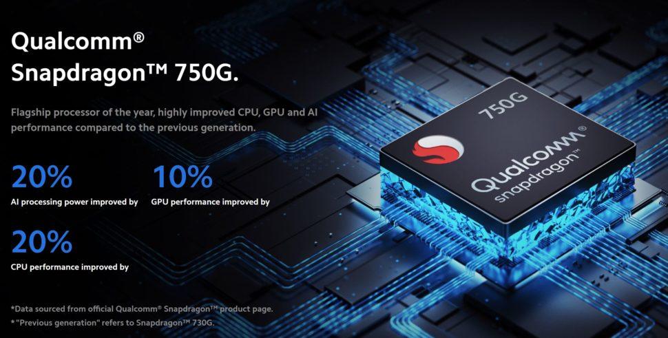 Xiaomi Mi 10T Lite 5G Snapdragon 750G