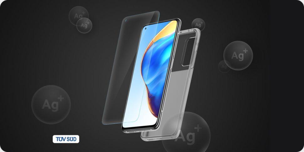 Hülle und Displayschutzfolie Xiaomi