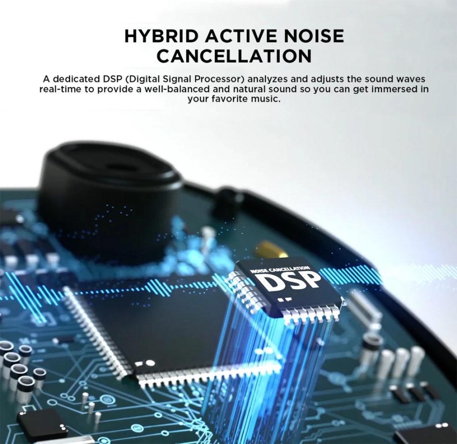 1More True Wireless ANC Test ANC