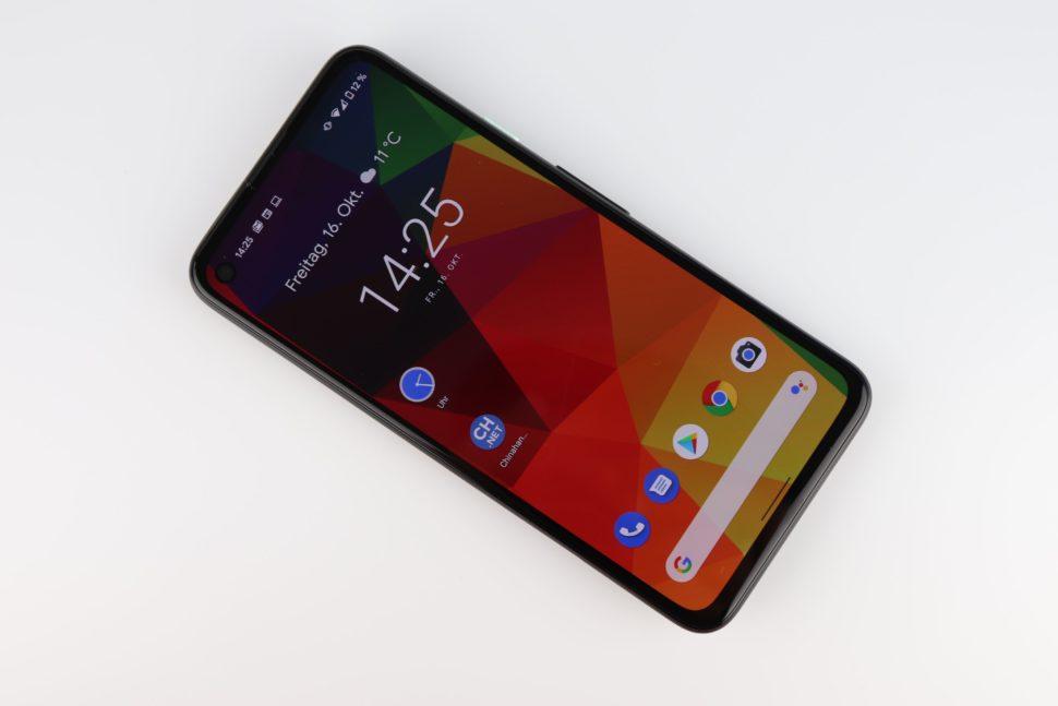 Google Pixel 4a Display