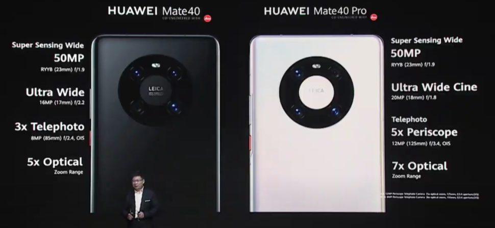 Cámara 1 del Huawei Mate 40 Pro