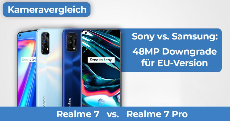 Realme 7 vs Realme 7 Pro Kameravergleich Banner