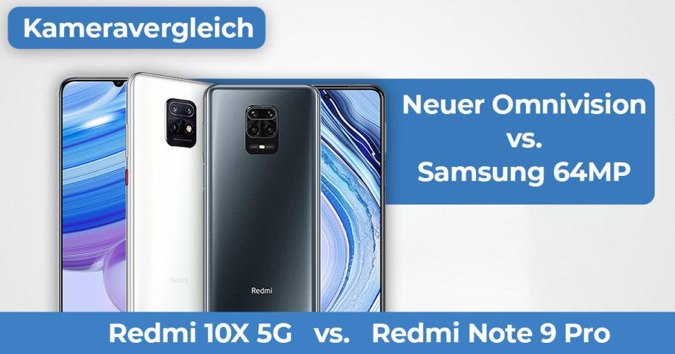 Redmi 10X 5G vs Redmi Note 9 Pro Kameravergleich