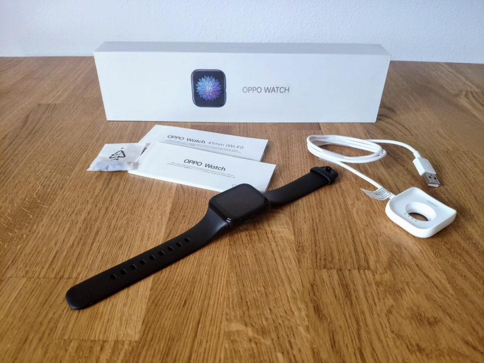 Oppo Watch Lieferumfang