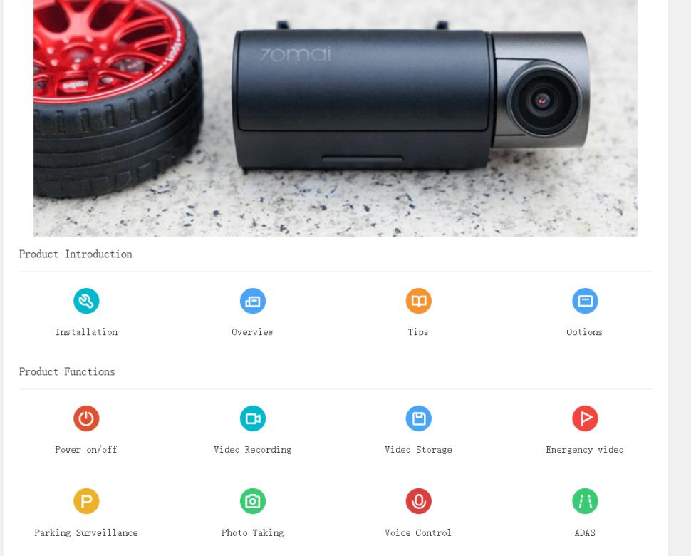 lossless 70mai Smart Dash Cam Pro Bedienungsanleitung