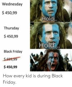 Black Friday fake verarsche