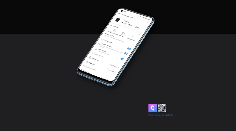 Realme Buds Air Pro Test 1 app