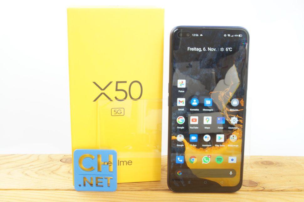 Realme X50 Testbericht Gerät 9