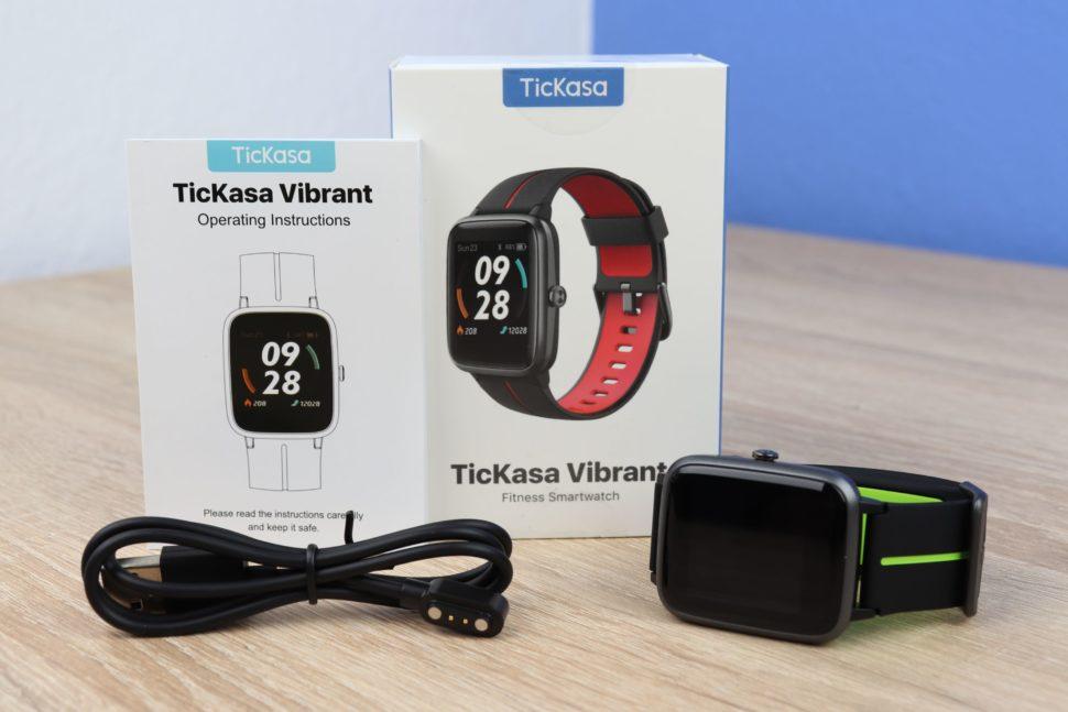 Ticwatch TicKasa Vibrant Test 1