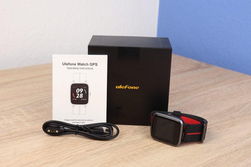 Ulefone Watch GPS Test 1