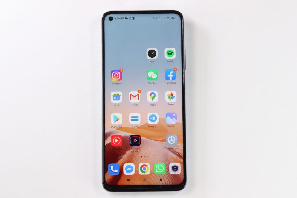Xiaomi Mi 10T Test Display