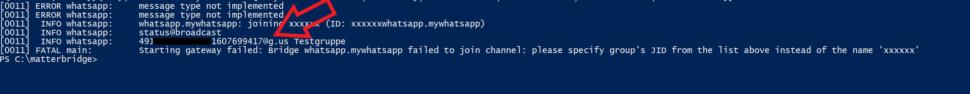 Whatsapp GroupIDs anzeigen 1