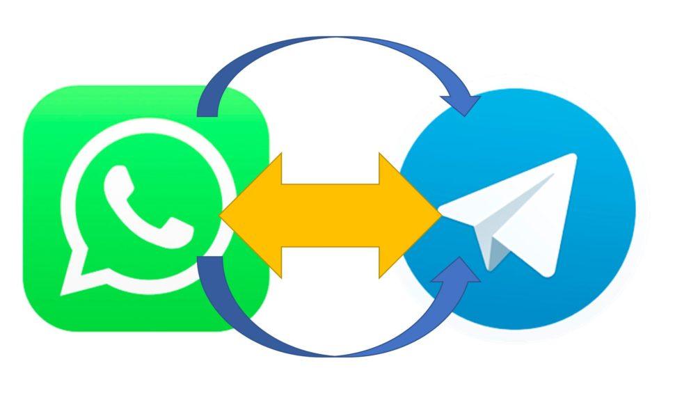Whatsapp Telegram weiterleiten Matterbridge