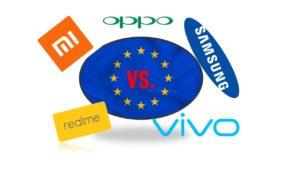 Smartphone Markt Europa nach Huawei