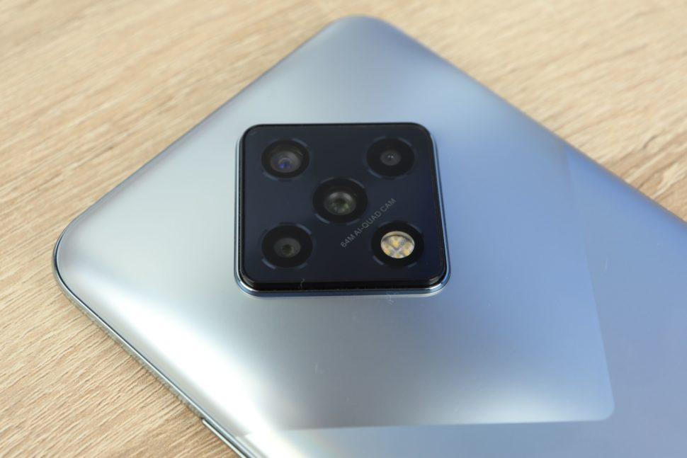Infinix Zero 8 Quad Kamera