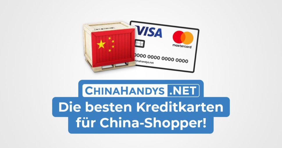 Bestellung China Kreditkarte Banner