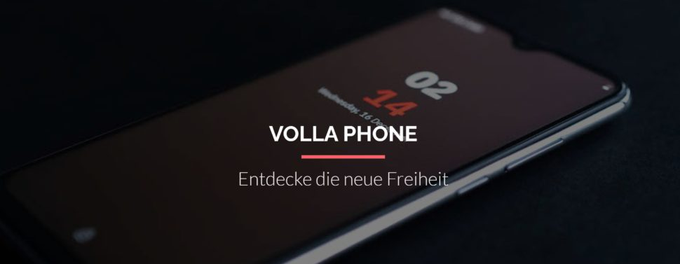 Volla Phone Website
