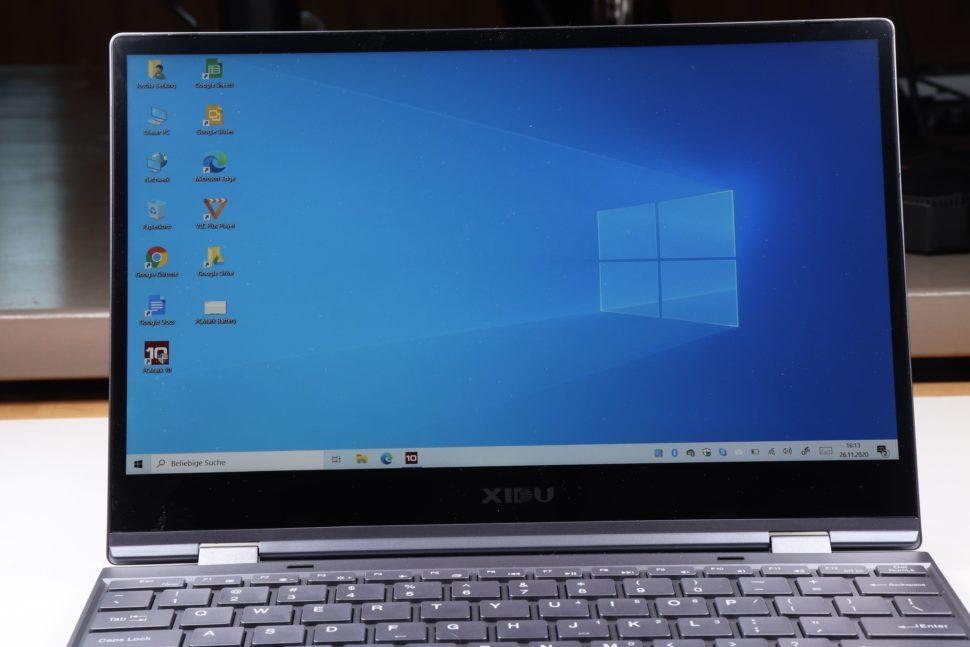 Xidu Philbook Y13 windows