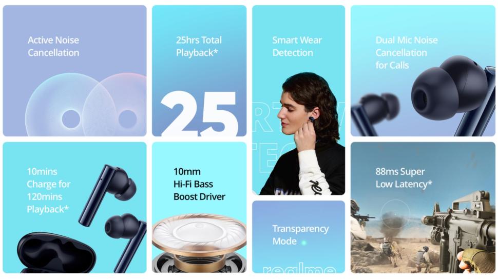 Realme Buds Air 2 vorgestellt 7