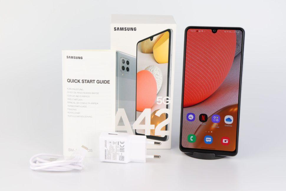 Samsung Galaxy A42 5G Lieferumfang