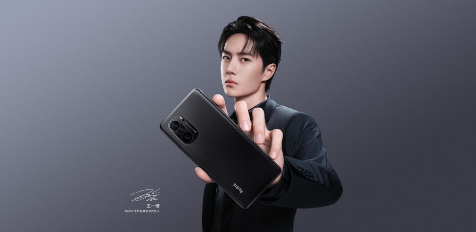 Xiaomi Redmi K40 Design Schwarz