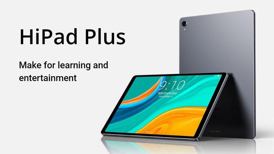 Chuwi HiPad Plus Front e1615292866911