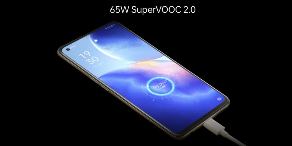 Oppo Find X3 Lite 65w charger