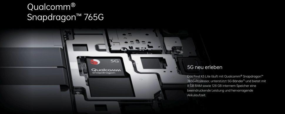 Oppo Find X3 Lite Snapdragon 765