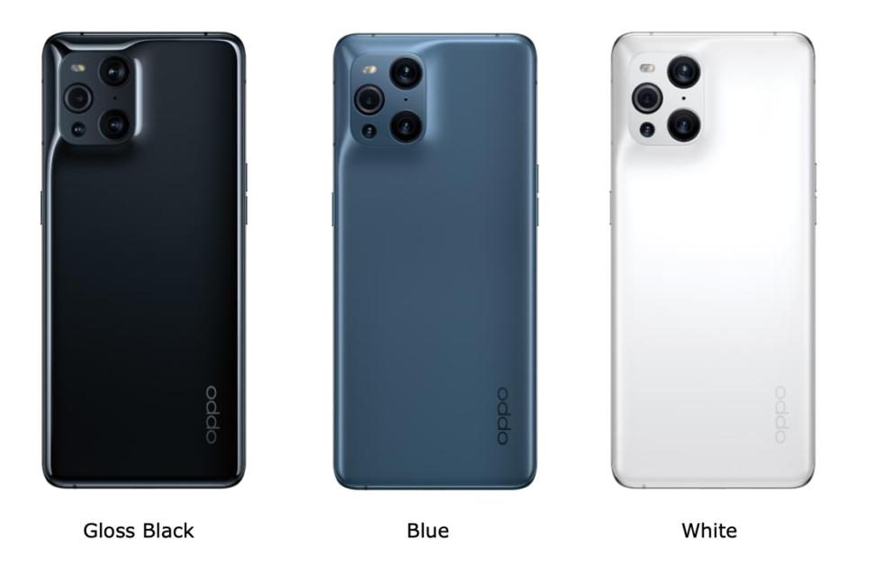 Oppo Find X3 Pro Farben