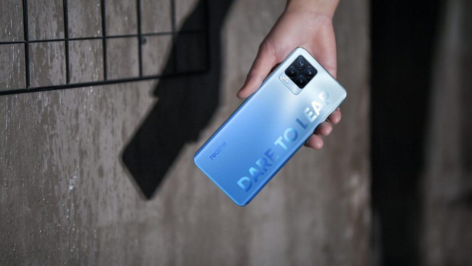 realme 8 Pro Infinite Blue 2