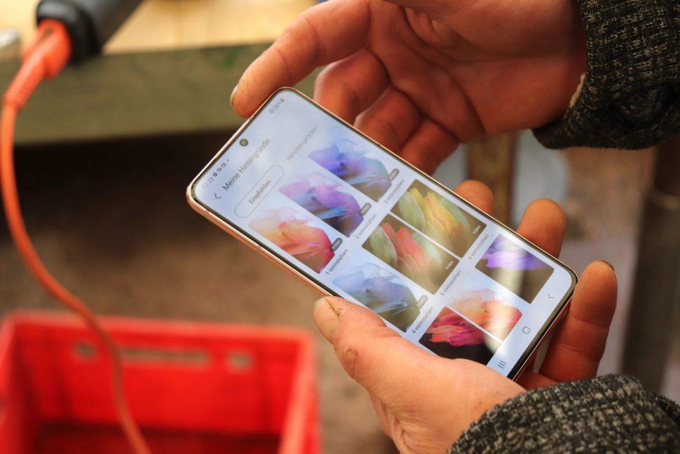 Samsung S21 Handson Test