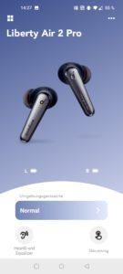 Soundcore Liberty Air 2 Pro Test Screenshots App 3