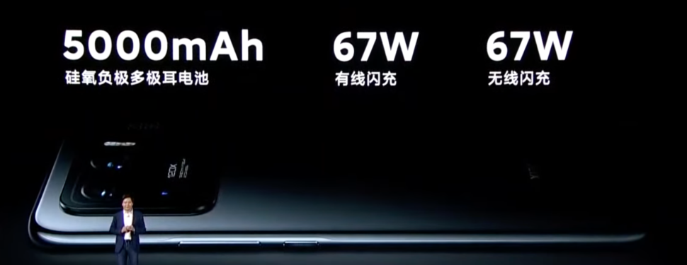 Xiaomi Mi 11 Ultra Battery