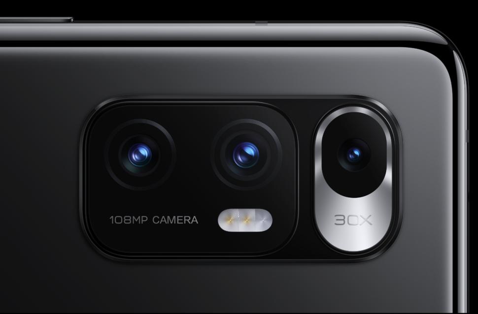 Die Kameras wie üblich Mi Mix Fold
