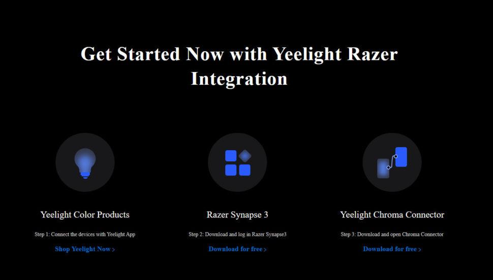 Yeelight LED Screen Bar Pro Test Synapse 6