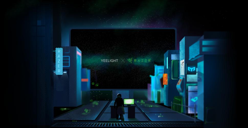 Yeelight LED Screen Bar Pro Test X Razer1