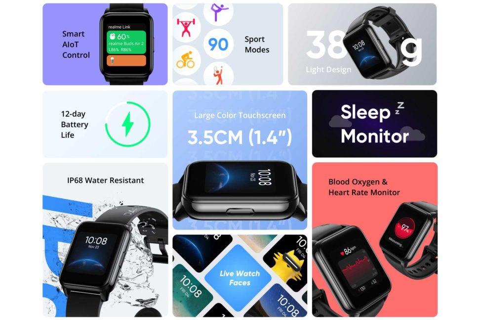 Realme Watch 2 vorgestellt 2