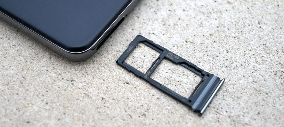 Samsung Galaxy A52 SIMslot