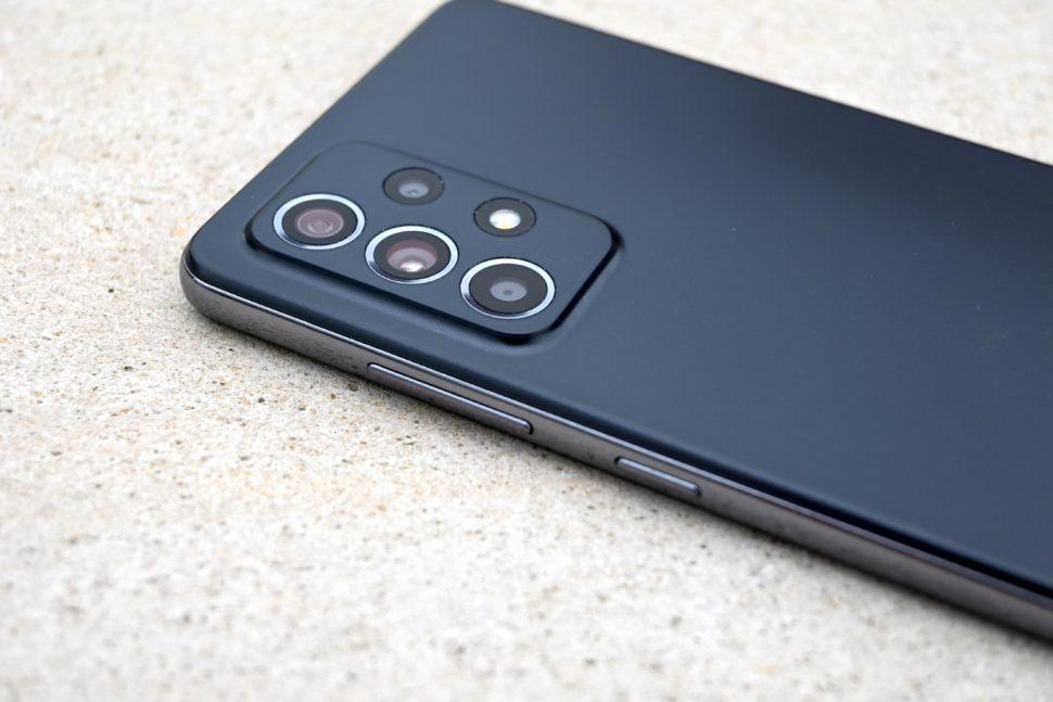 Samsung galaxy a52 buttons