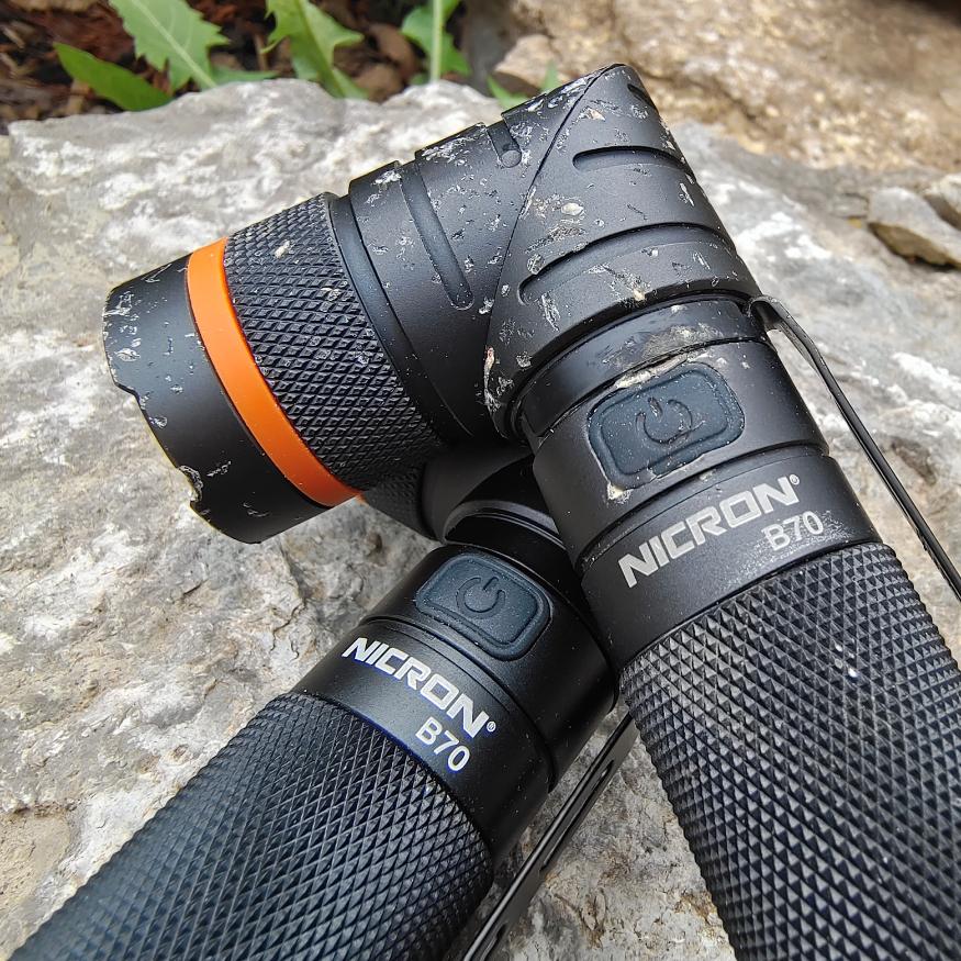 Stresstest-der-Nicron-B70-Taschenlampe