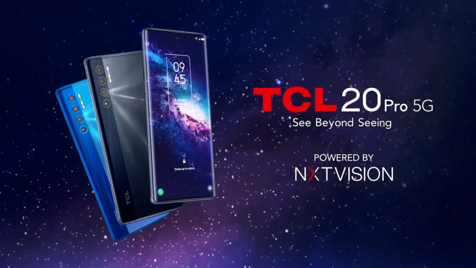 tcl 20 pro 5g banner