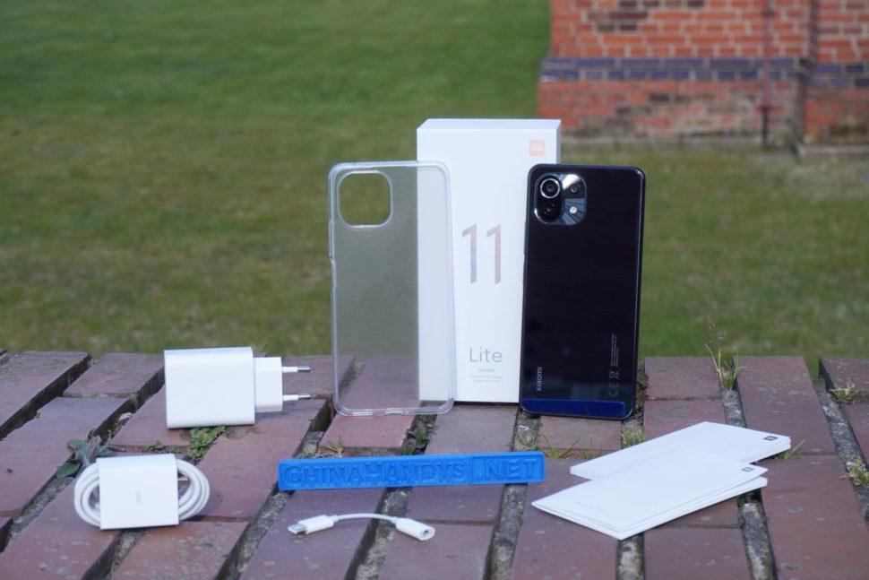 Xiaomi Mi 11 Lite 4G Lieferumfang